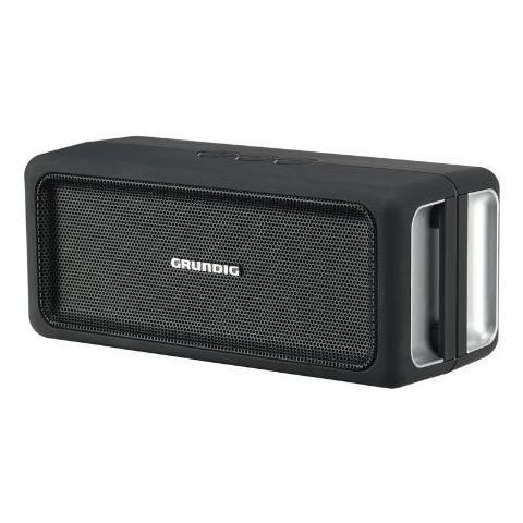 Grundig Speaker GSB 120 Bluetooth - Nero / Argento