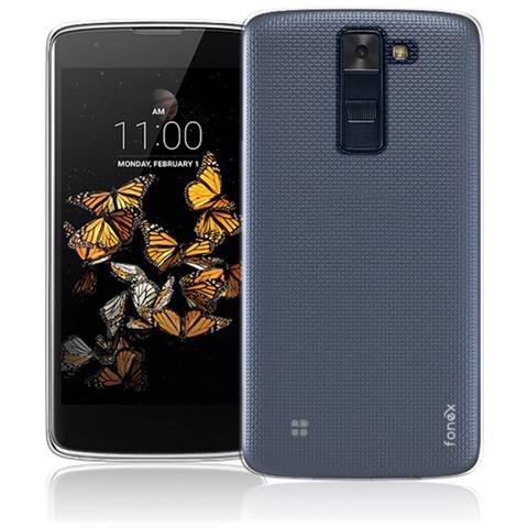 FONEX Inv Cover Ultra Sottile 0,2 mm in Morbido TPU per LG K8 Colore Trasparente