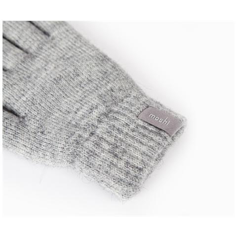 MOSHI Guanti invernali disposiitivi touchscreen colore Grigio