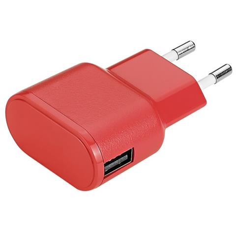 AIINO Apple Wall Charger 1USB 1A - Red