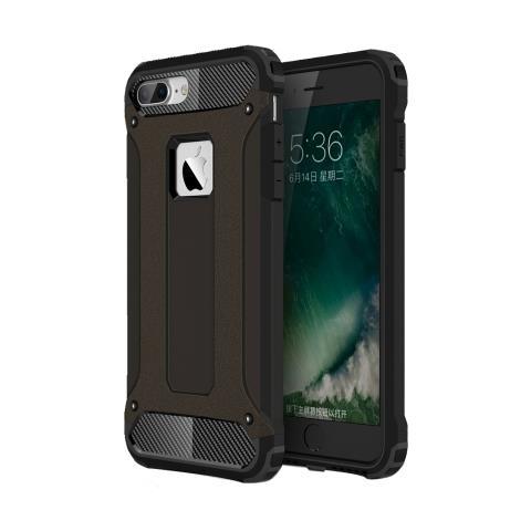 Mecaweb Custodia Tpu Silicone Morbido Con Copertura Plastica Rigida Per Smartphone Apple Iphone 7 Plus