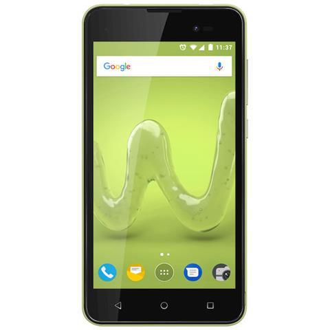 "WIKO Sunny 2 Plus Lime 8 GB Dual Sim Display 5"" Slot Micro SD Fotocamera 5 Mpx Android Italia"