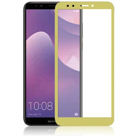 FONEX SCREEN GLASS 2,5D 0,33 MM. PER HUAWEI Y7 2018 GOLD (1 PZ)