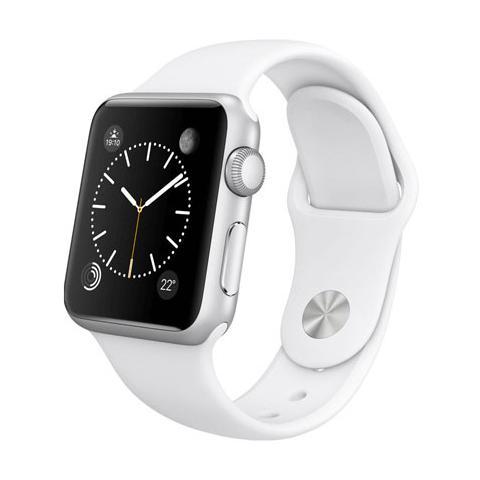FONEX Cinturino WristBandi n silicone per Apple Watch da 42mm - Bianco