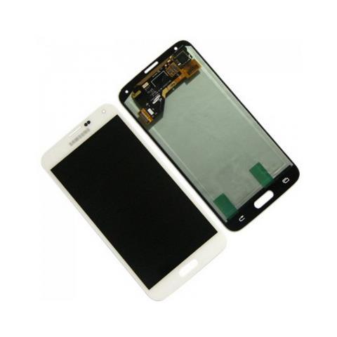 SAMSUNG Schermo LCD di Ricambio per Smartphone Bianco GH97-15959A