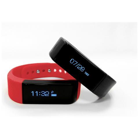 NILOX Ernest FIT Tracker Life coach Touchscreen Buetooth con funzione notifiche e chiamate