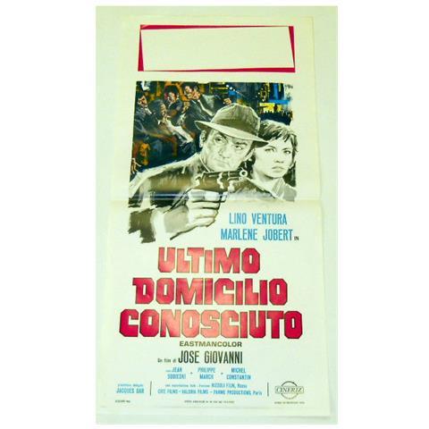 Vendilosubito Locandina Originale Del Film Ultimo Domicilio Conosciuto