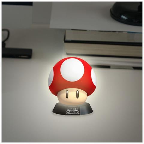 TimeCity Nintendo - Super Mario Super Mushroom 3D (Lampada)