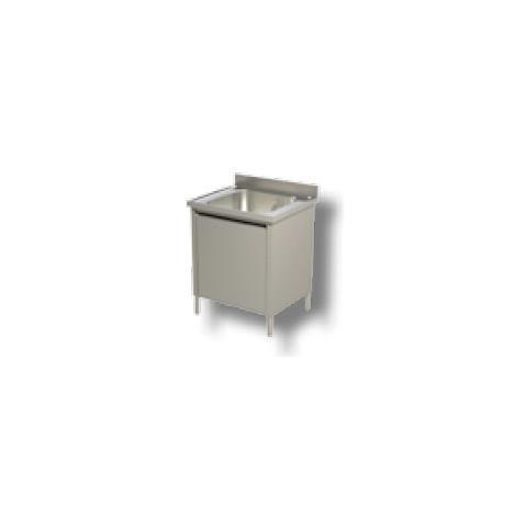 Lavello 70x70x85 Acciaio Inox 430 Armadiato Cucina Ristorante Pizzeria Rs4923