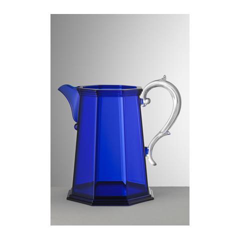 Brocca Ottaviana Acrilico Capacità 3 Litri Colore Blu