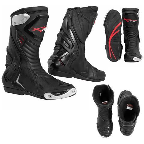Stivali Omologati Ce Moto Quad Motocross Touring Sport Nero 44