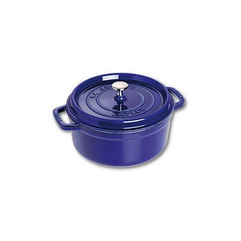 Cocotte in Ghisa con Coperchio Diametro 26 cm Capacità 5 lt Colore Blu Scuro - Linea La Cocotte
