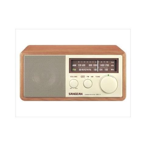SANGEAN WR-11, Portatile, Analogico, 87.5 - 108 MHz, 3.5 mm, 7W, 12 V, 1 A