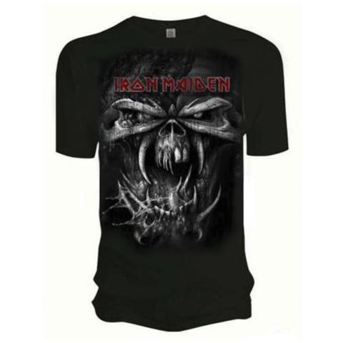 ROCK OFF Iron Maiden - Final Frontier Eddie Vintage (T-Shirt Unisex Tg. L)