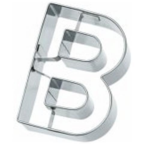 Tagliapasta Lettera B In Metallo 6 Cm