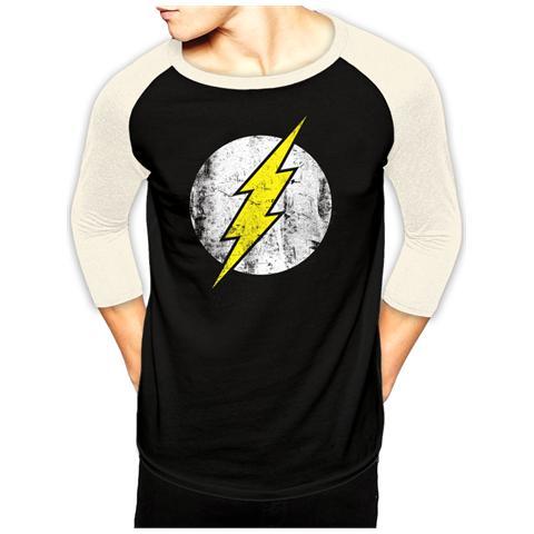 CID Flash (The) - Logo Bs (Baseball Shirt Unisex Tg. Xl)