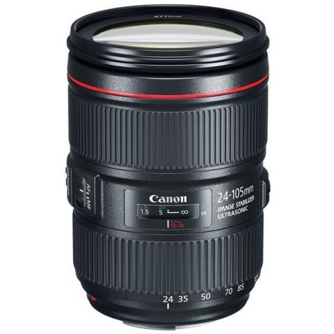 Obiettivo Canon Rf 24-105mm F / 4l Is Usm (scatola Bianca)