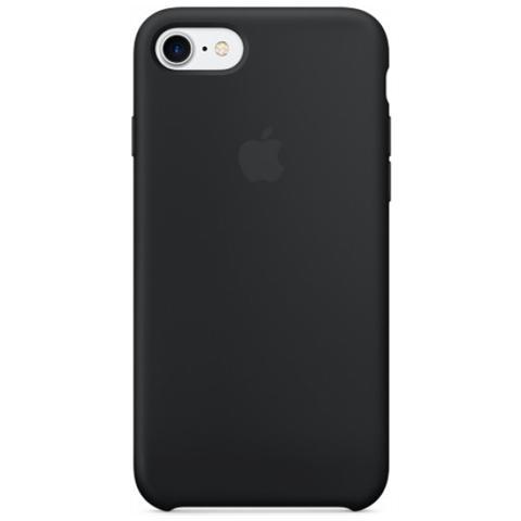 APPLE Cover in silicone per iPhone 7 - Nero