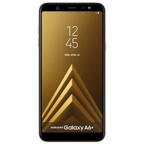 Image of Galaxy A6+ Oro 32 GB 4G / LTE Display 6'' Full HD+ Slot Micro SD Fotocamera 16 Mpx Android - Tim Italia