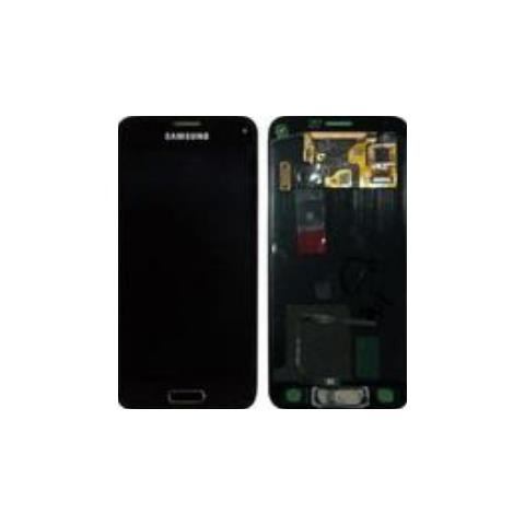 SAMSUNG Schermo LCD di Ricambio per Smartphone Nero GH97-16147D