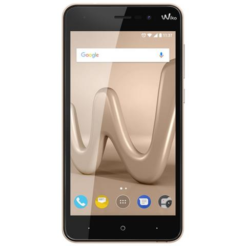 "WIKO Lenny 4 Oro 16 GB 3G Dual Sim Display 5"" HD Slot Micro SD Fotocamera 8 Mpx Android Italia"