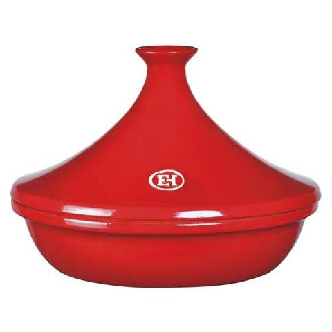 Tajine 32x32m h. 23cm 3,50lt. grand cru rosso flame