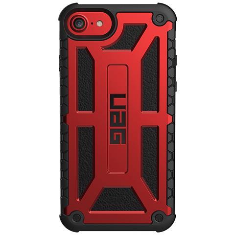 UAG Cover per iPhone 8 / 7 / 6S Colore Rosso e Nero
