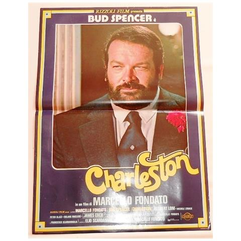 Vendilosubito Foto Busta Completo Originale Del Film Charleston Bud Spancer 1977