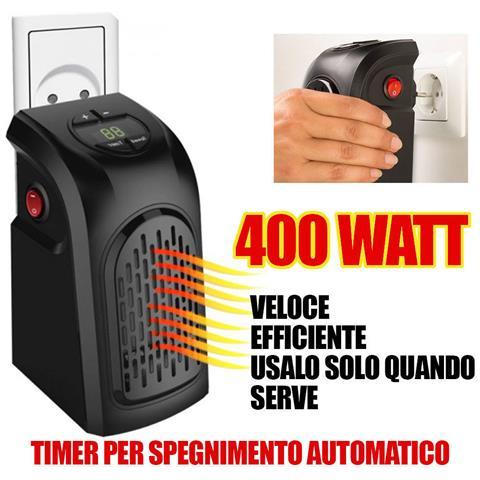 Myhot handy heater stufa elettrica portatile potenza 400 for Stufa elettrica handy heater opinioni