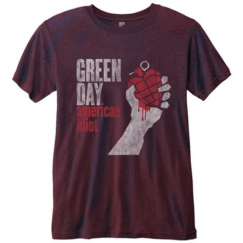 ROCK OFF Green Day - American Idiot (T-Shirt Unisex Tg. L)