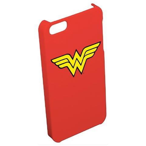 DC COMICS Cust. Rigida Wonder Woman Per Apple Iph 5/5s / Se Red + Logo