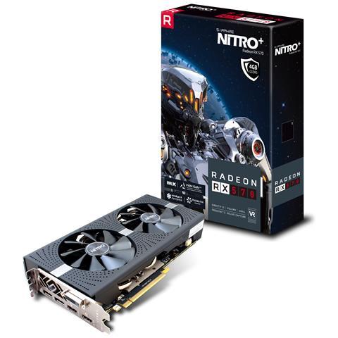 SAPPHIRE Radeon RX 570 4 GB GDDR5 Pci-E DVI-D / 2x HDMI / 2x Display Port NITRO+