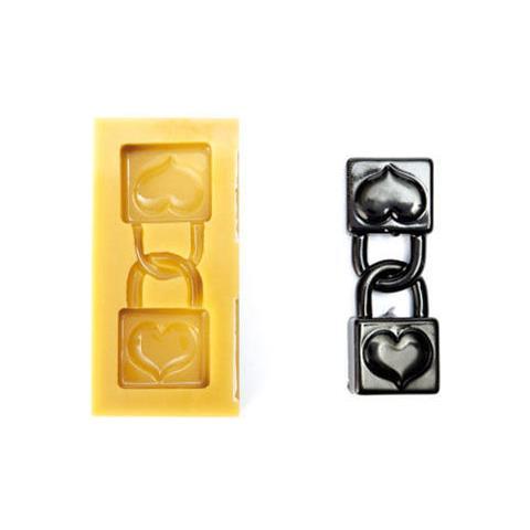 040601 - Sugarflex Gold 040601 Lucchetti D'amore 82 X 30 H 12 Mm