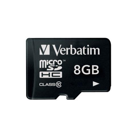 VERBATIM MicroSD da 8gb Class 10