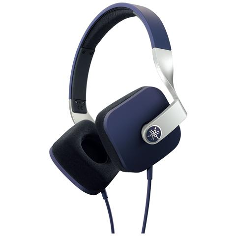 YAMAHA HPH-M82 Cuffie con Microfono Colore Blu