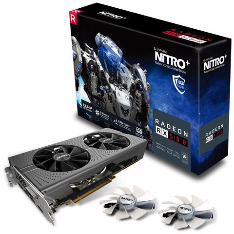 Sapphire Radeon RX 580 8 GB Nitro+ Limited Edition