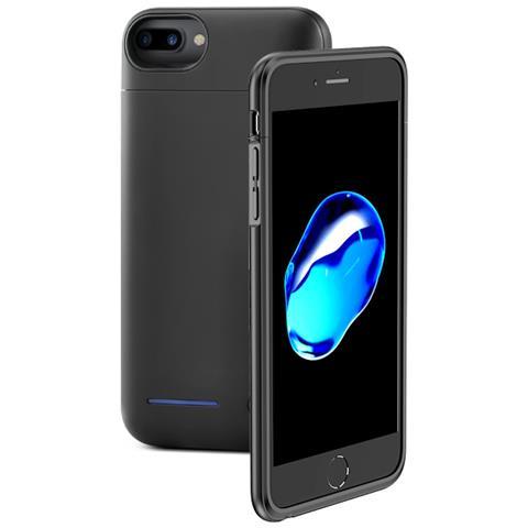 FONEX Power Skin Cover con Batteria Incorporata 4200 mAh per iPhone 7 Plus / 8 Plus Colore Nero