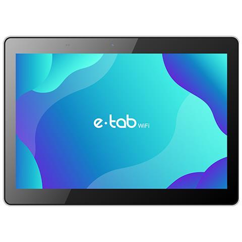 E-Tab WiFi Nero 10.1'' HD Quad Core RAM 4GB Memoria 32 GB +Slot MicroSD Wi-Fi Fotocamera 8...