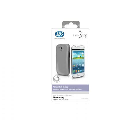 SBS TE0PTS96W SMARTPHONE Cover ultrasottile, colore Bianco per Samsung Galaxy SIII Mini I8190