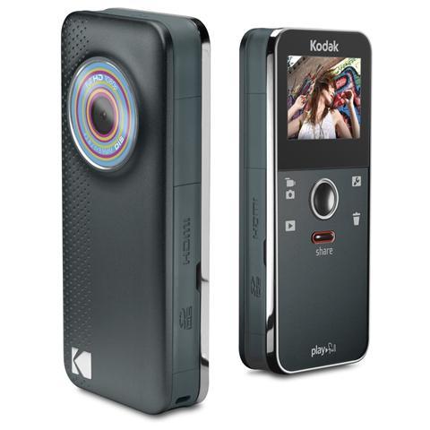 KODAK Playfull ZE1 Nero + SD 4GB + Borsa Sensore CMOS Full HD Display 1.5'' Stabilizzato