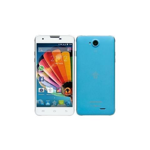 "MEDIACOM PhonePad Duo G510 Blu 8 GB Dual Sim Display 5"" Fotocamera 5 Mpx Android Italia"