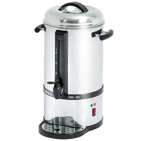 Percolatore per caffè in acciaio inox 40 tazze A190145