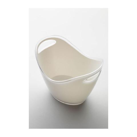 Portaghiaccio Culla Piccola Acrilico 20x27 H 20 Cm Colore Bianco