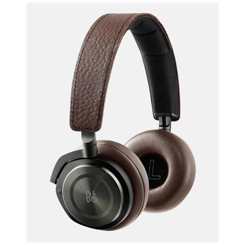 "BANG & OLUFSEN BeoPlay H8, Circumaurale, Padiglione auricolare, Bluetooth + 3.5 mm (1/8"") , Marrone, 3,5 mm, 20 - 22000 Hz"