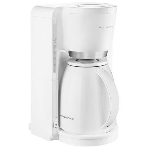CT 3801 Macchina Caffè Americano 12 Tazze Potenza 850 Watt Colore Bianco