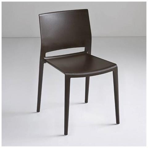 Sedie In Polipropilene Colorate.La Primavera Sedia Bakhita In Polipropilene Made In Italy Set