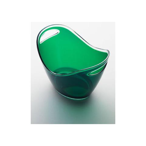 Portaghiaccio Culla Piccola Acrilico 20x27 H 20 Cm Colore Verde Empoli