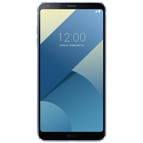 "LG G6 Blu 32 GB 4G / LTE Impermeabile Display 5.7"" Quad HD Slot Micro SD Fotocamera 13 Mpx Android Europa"