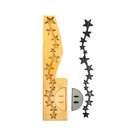 060101 - Sugarflex Gold 060101 Natale Colonna Di Stelle 640 X 100 H 24 Mm