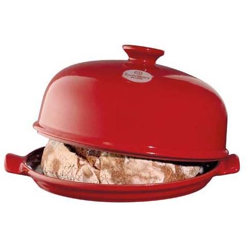 EMILE HENRY Pentola cuoci pane le pain 28cm rosso grand cru ceramica refrattaria